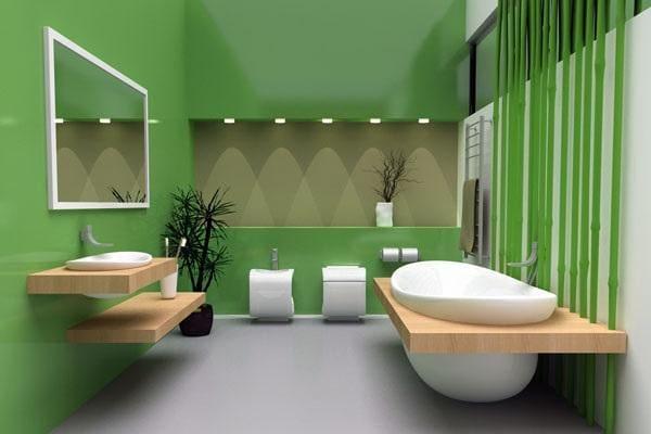 18055218 lazienka wanna umywalka bidet Projektowanie łazienek